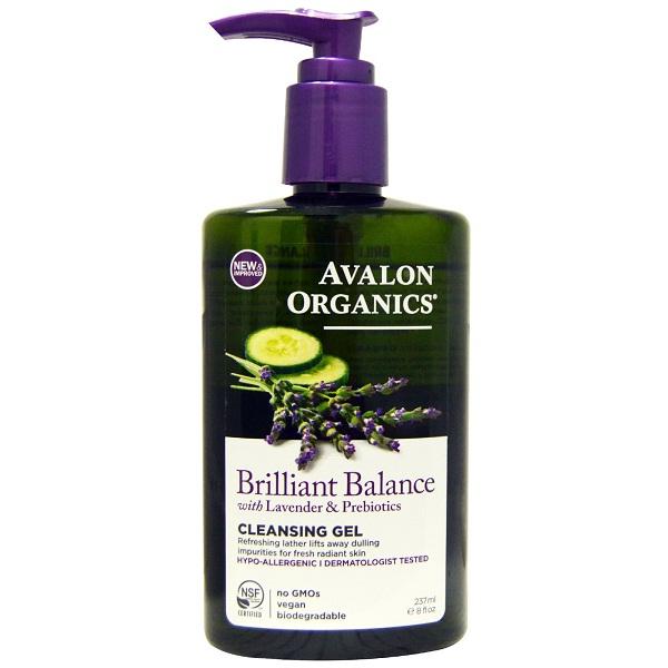 Avalon Organics Brilliant Balance Cleansing Gel (1x8 FZ)