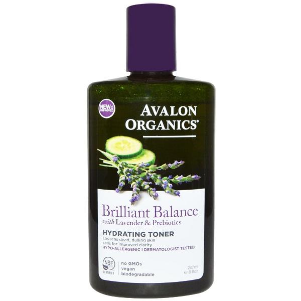 Avalon Organics Brilliant Balance Hydrating Toner (1x8 FZ)