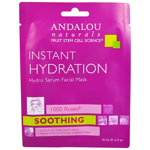 Andalou Naturals Instant Hydration Face Mask (6x0.6 FZ)