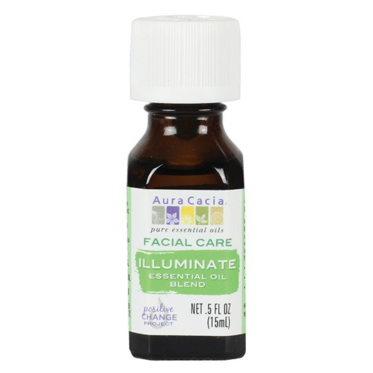 Aura Cacia Illuminate Facial Care Essential Oil Blend (1x.50 FZ)
