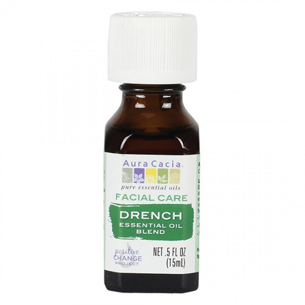 Aura Cacia Drench Facial Care Essential Oil Blend (1x.50 FZ)