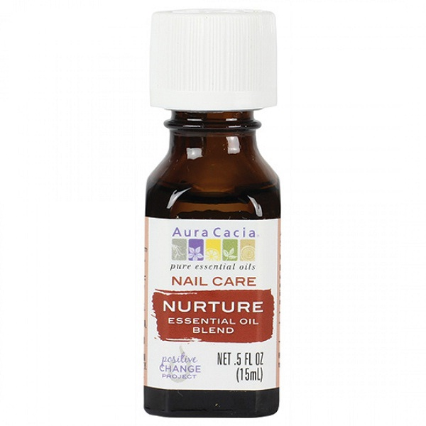 Aura Cacia Nurture Nail Care Essential Oil Blend (1x.5 FZ)
