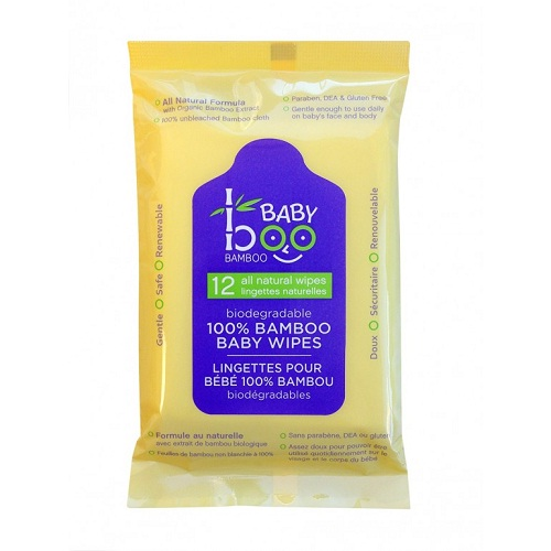 Baby Boo Bamboo Travel Wipes (1x12 CT)