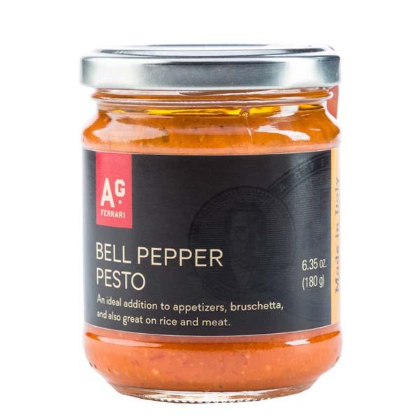 A.G. Ferrari Bell Pepper Pesto (12x6.35 OZ)