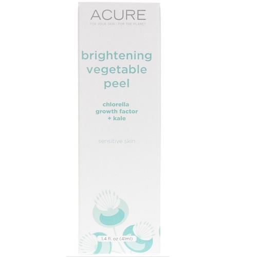 Acure Brightening Vegetable Peel  (1x1.4 FZ)