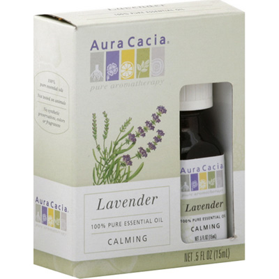 Aura Cacia Lavender Essential Oil (1x0.25Oz)
