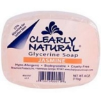 Clearly Naturals Jasmine Soap (1x4 Oz)