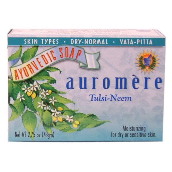 Auromere Tulsi Neem Bar Soap (1x2.75 Oz)