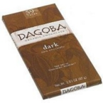 Dagoba Chocolate Dark Chocolate Bar 59% (12x2 Oz)