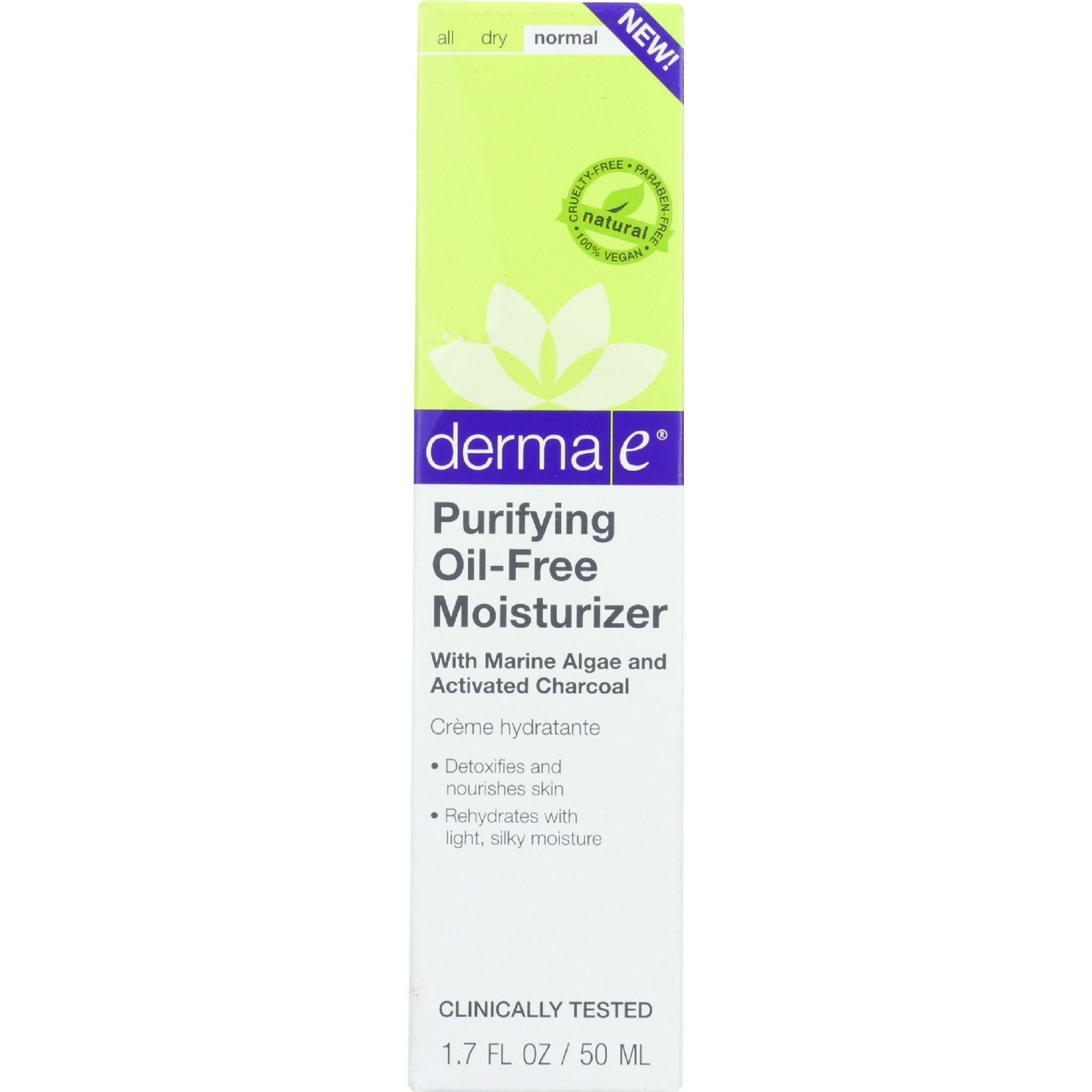 Derma E Moisturizer  Purifying Oil Free  1.7 oz