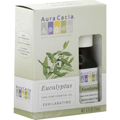 Aura Cacia Eucalyptus Essential Oil (1x0.5Oz)