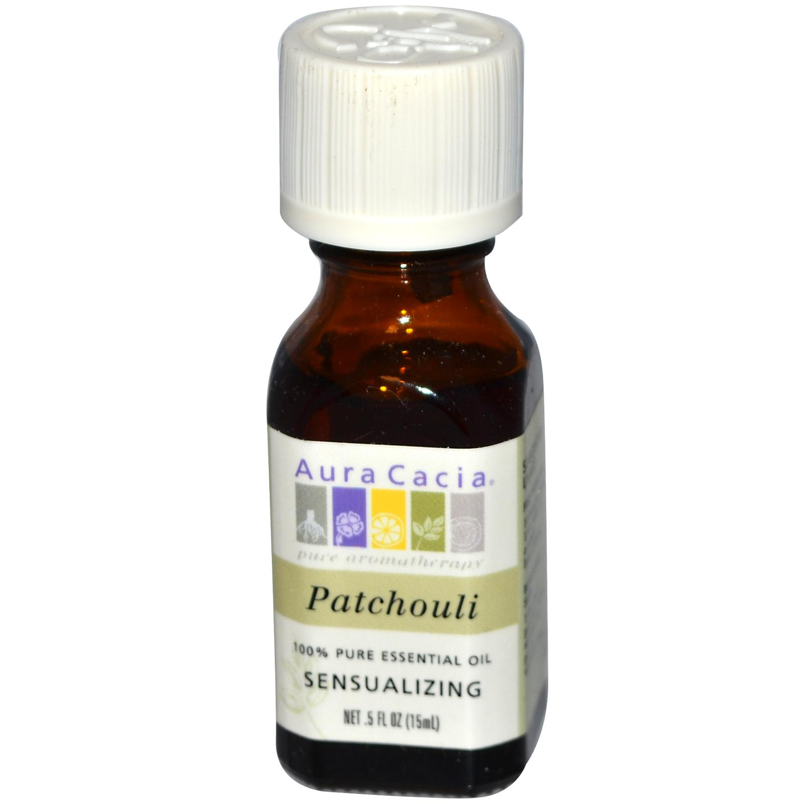 Aura Cacia Patchouli Essential Oil (1x0.5Oz)