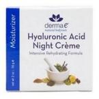 Derma E Hyaluronic Acid Night Cr�me (1x2 Oz)