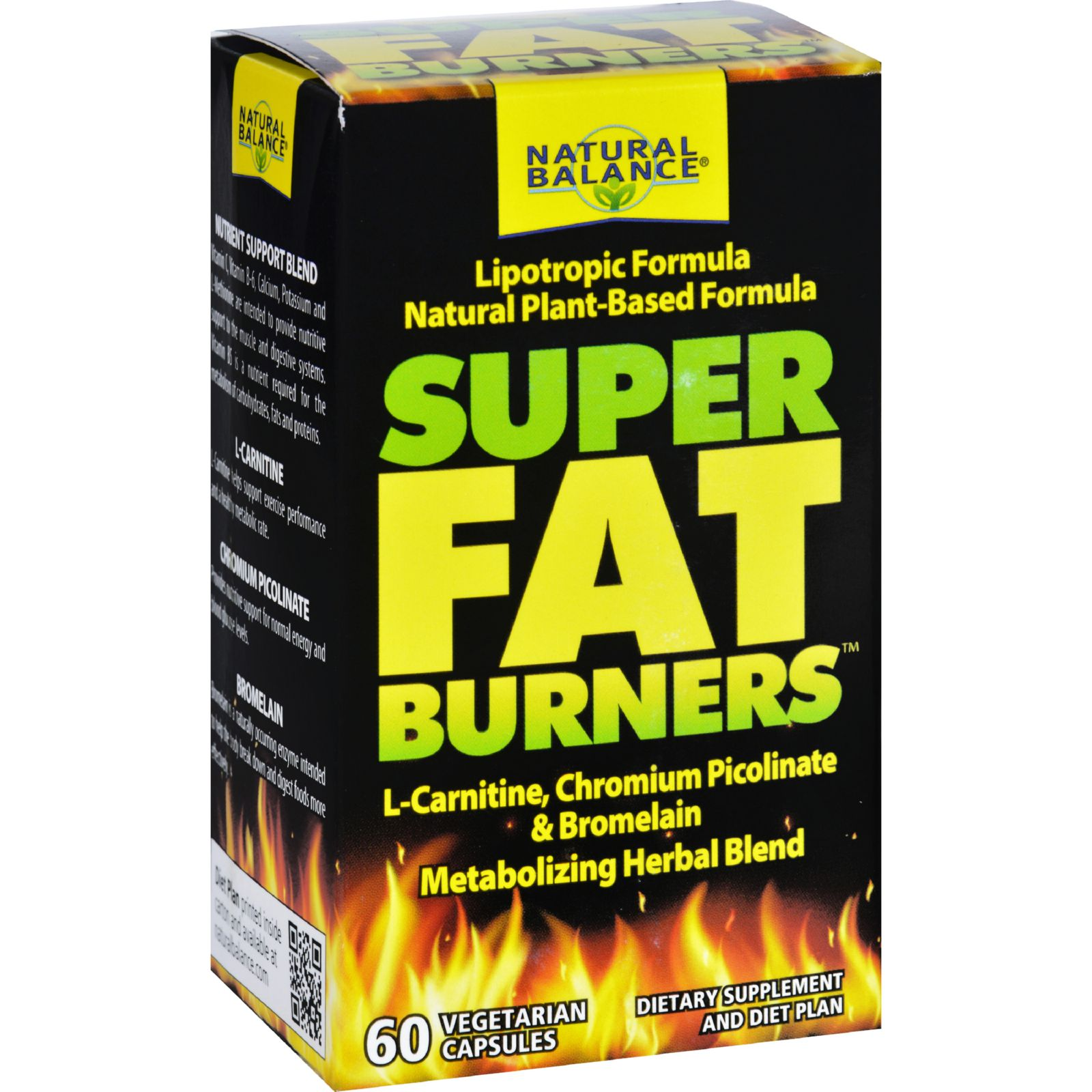 Natural Balance Super Fat Burners  60 Vegetarian Capsules