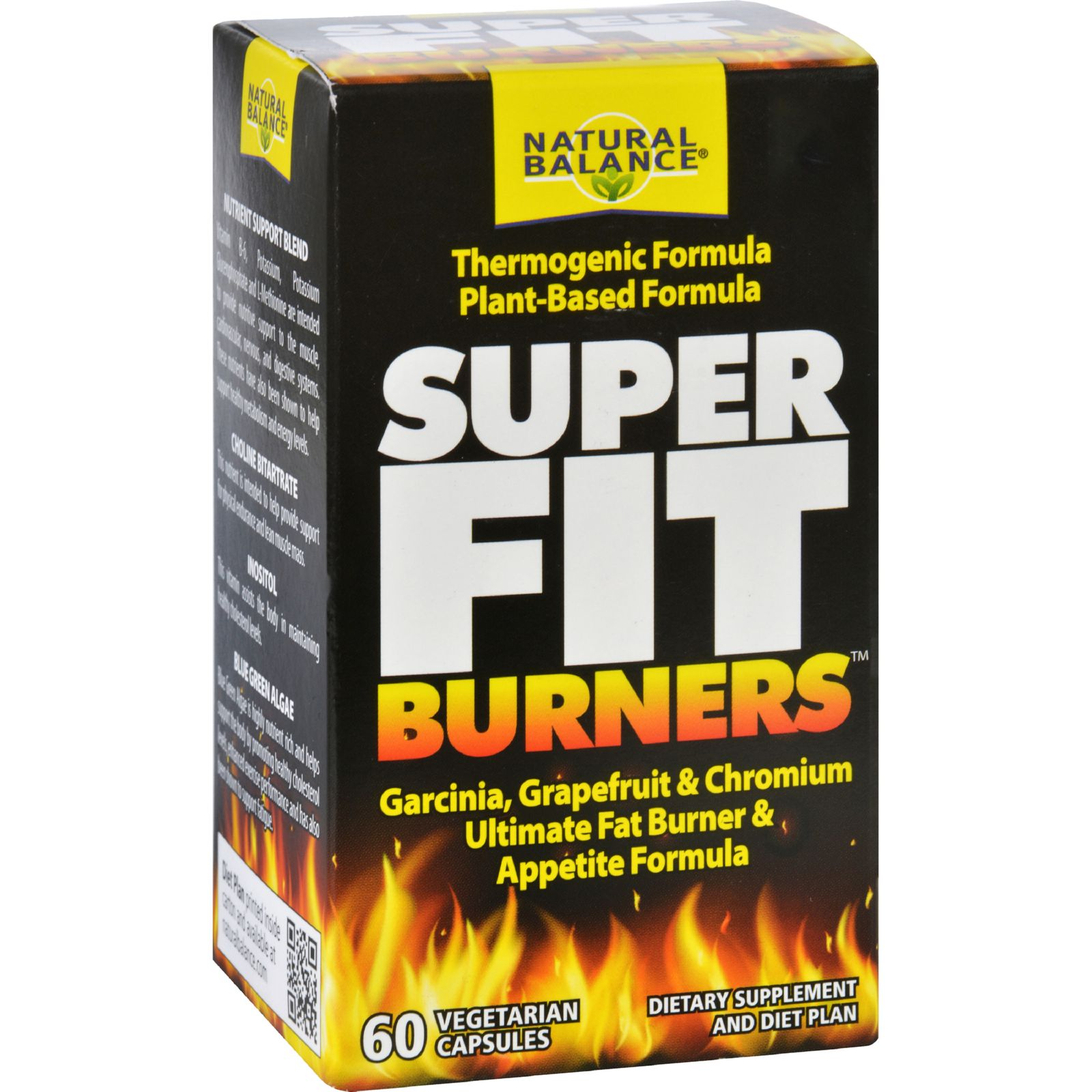 Natural Balance Super Fit Burners  60 Vegetarian Capsules