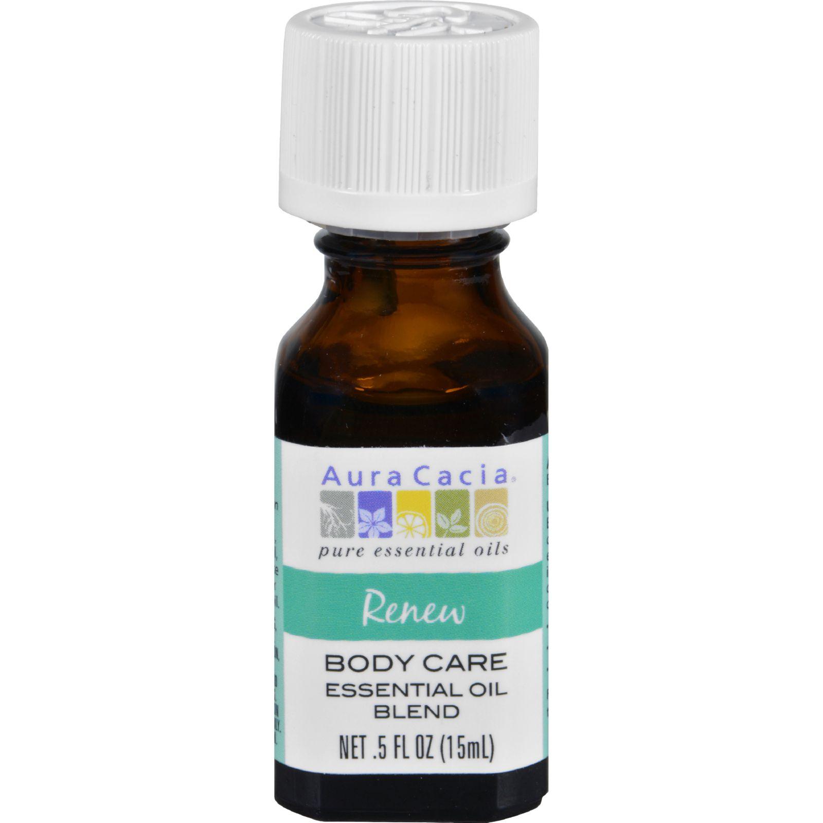 Aura Cacia Essential Oil Blend  Body  Renew  .5 oz