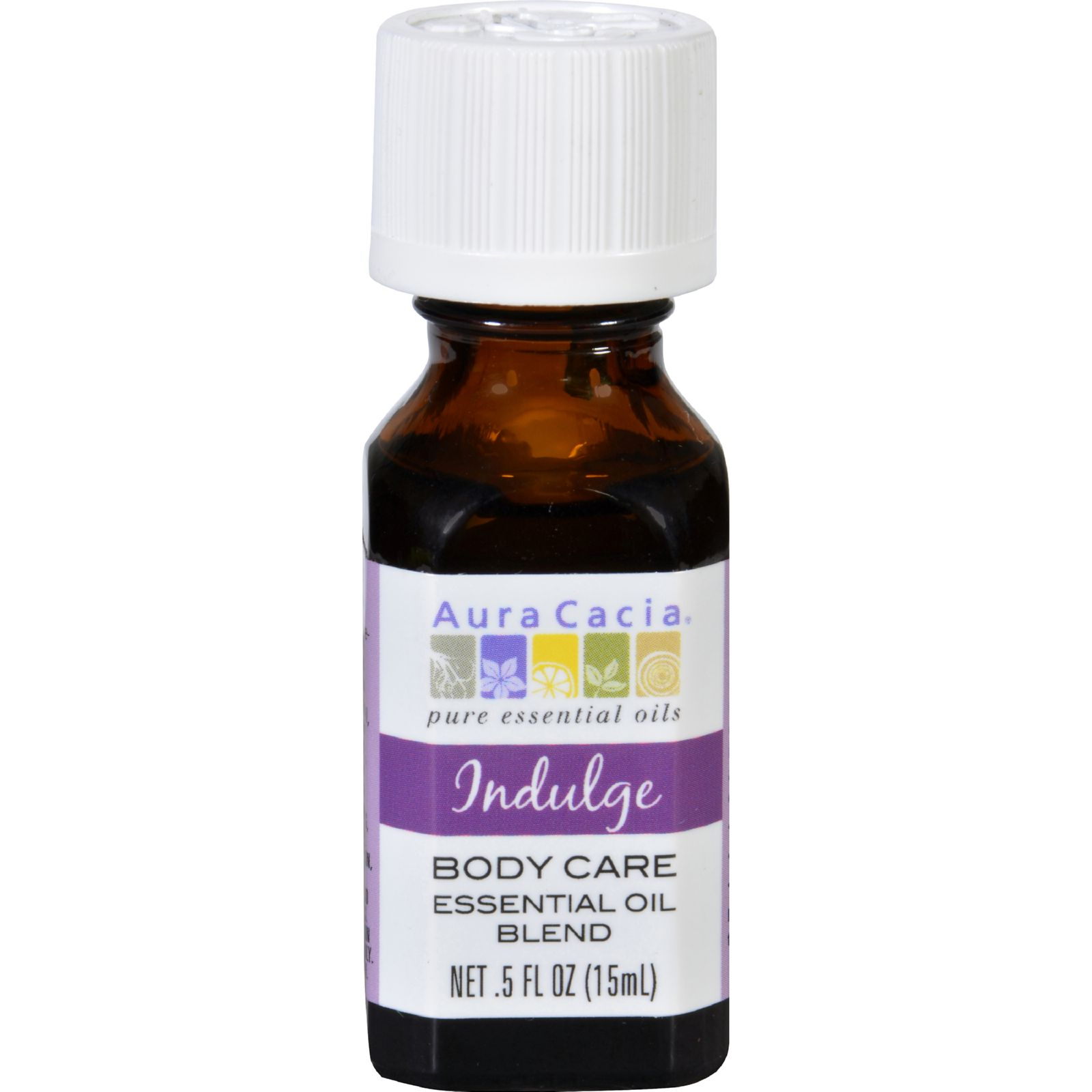 Aura Cacia Essential Oil Blend  Body  Indulge  .5 oz