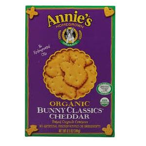 Annies Homegrown Cheddar Bunny Classic Cracker (12x6.5 Oz)