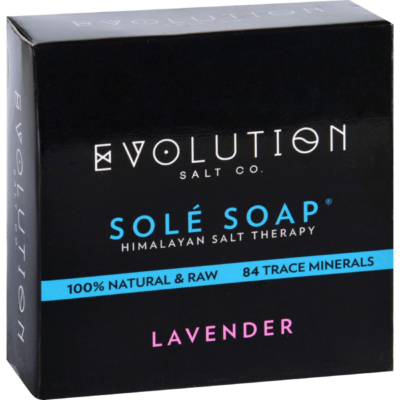 Evolution Salt Bath Soap  Sole  Lavender  4.5 oz