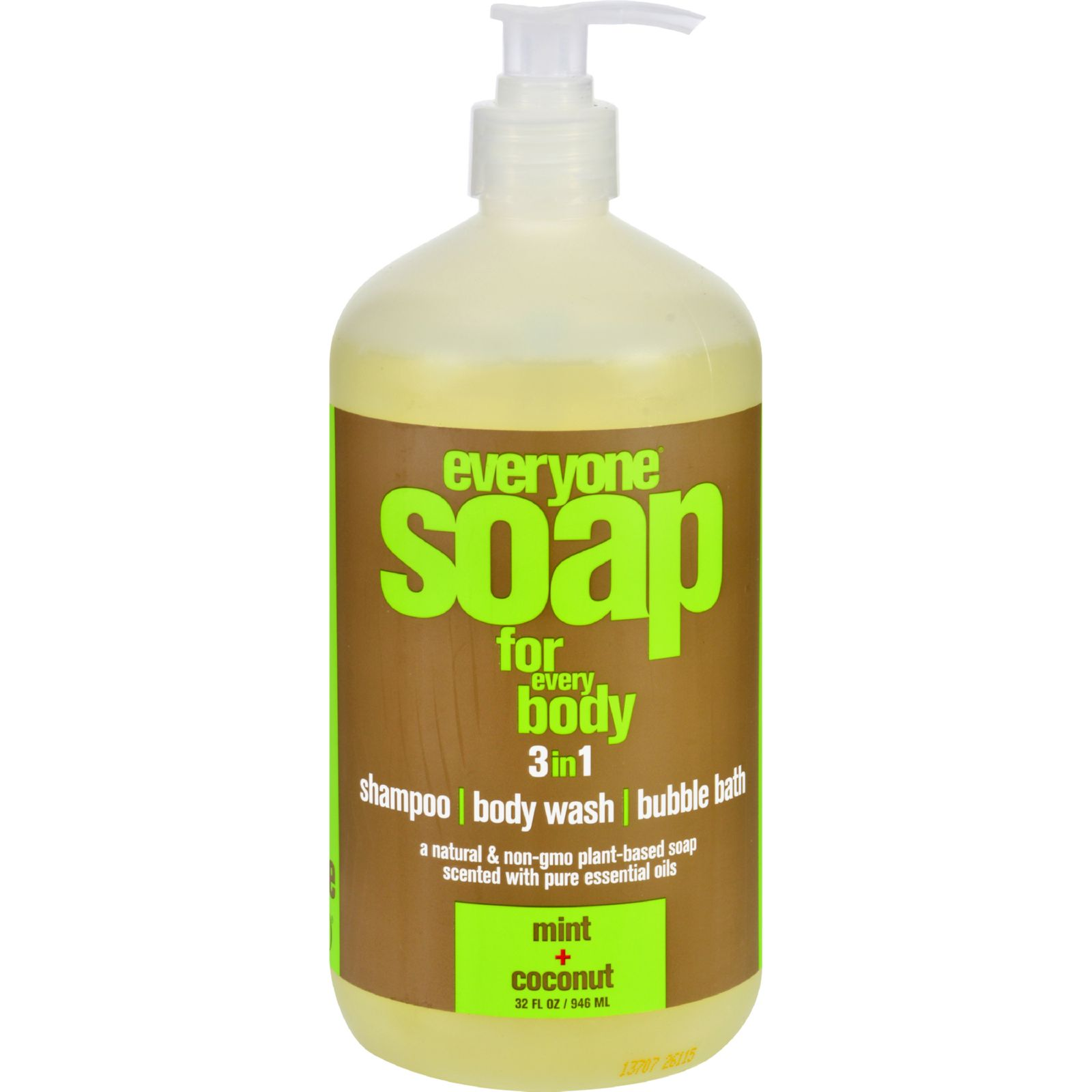 EO Products Hand Soap  Natural  Everyone  Liquid  Mint and Coconut  32 oz