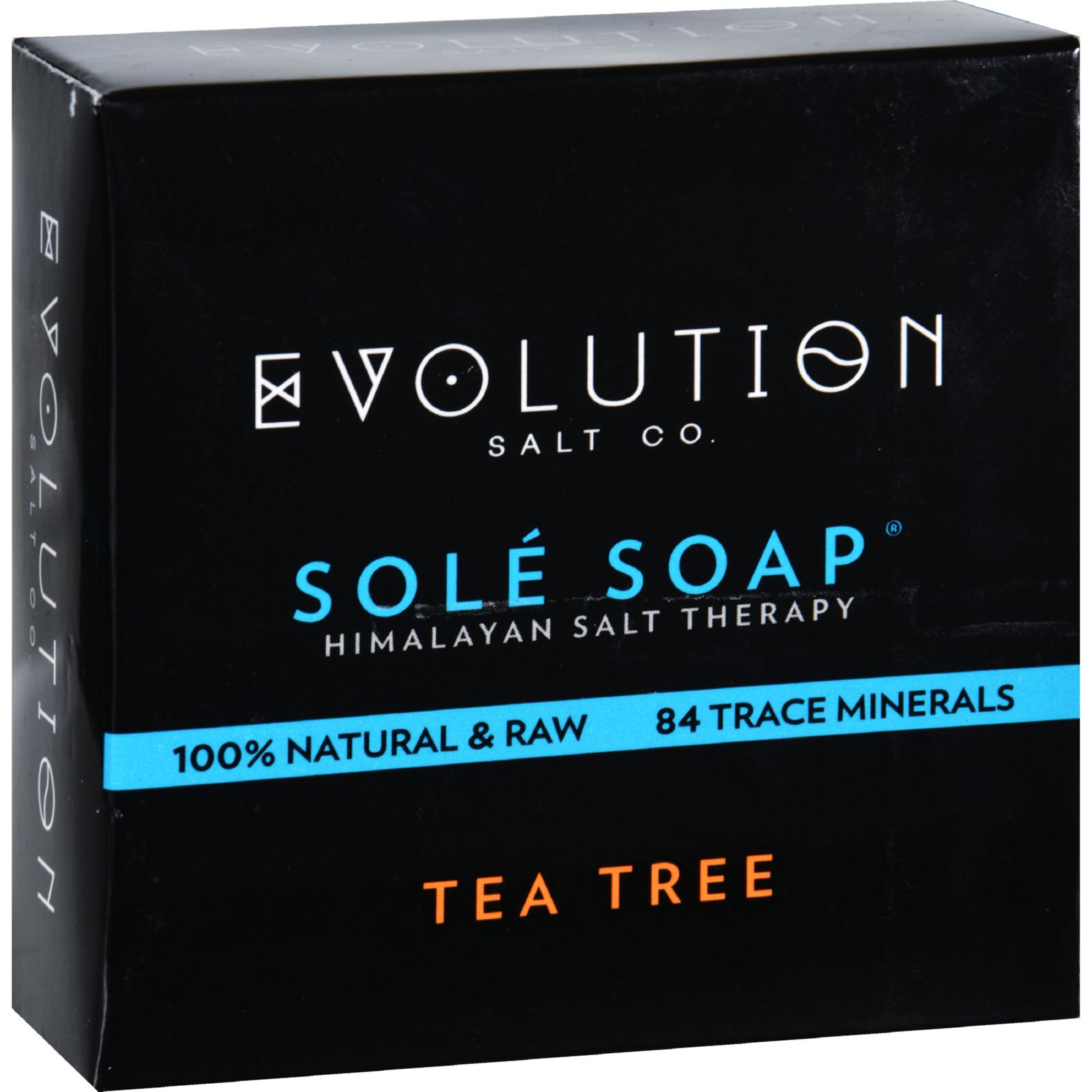 Evolution Salt Bath Soap  Sole  Tea Tree  4.5 oz