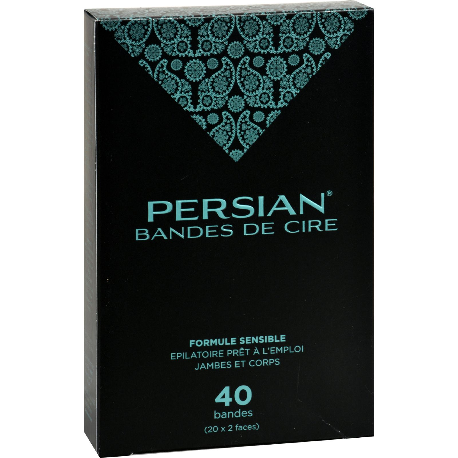 Parissa Persian Wax Strips for Legs  40 Pack