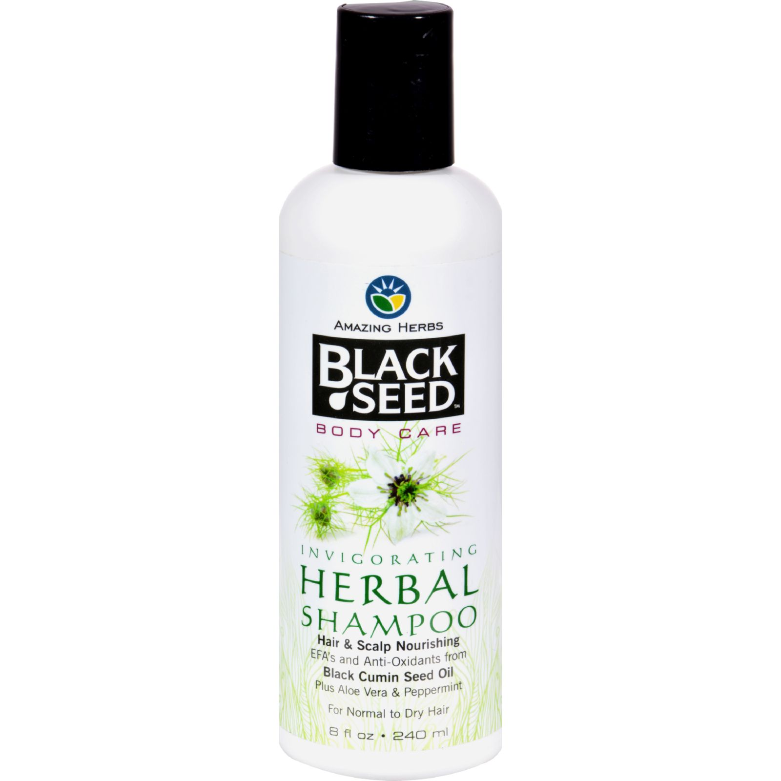 Black Seed Shampoo  Herbal  8 oz