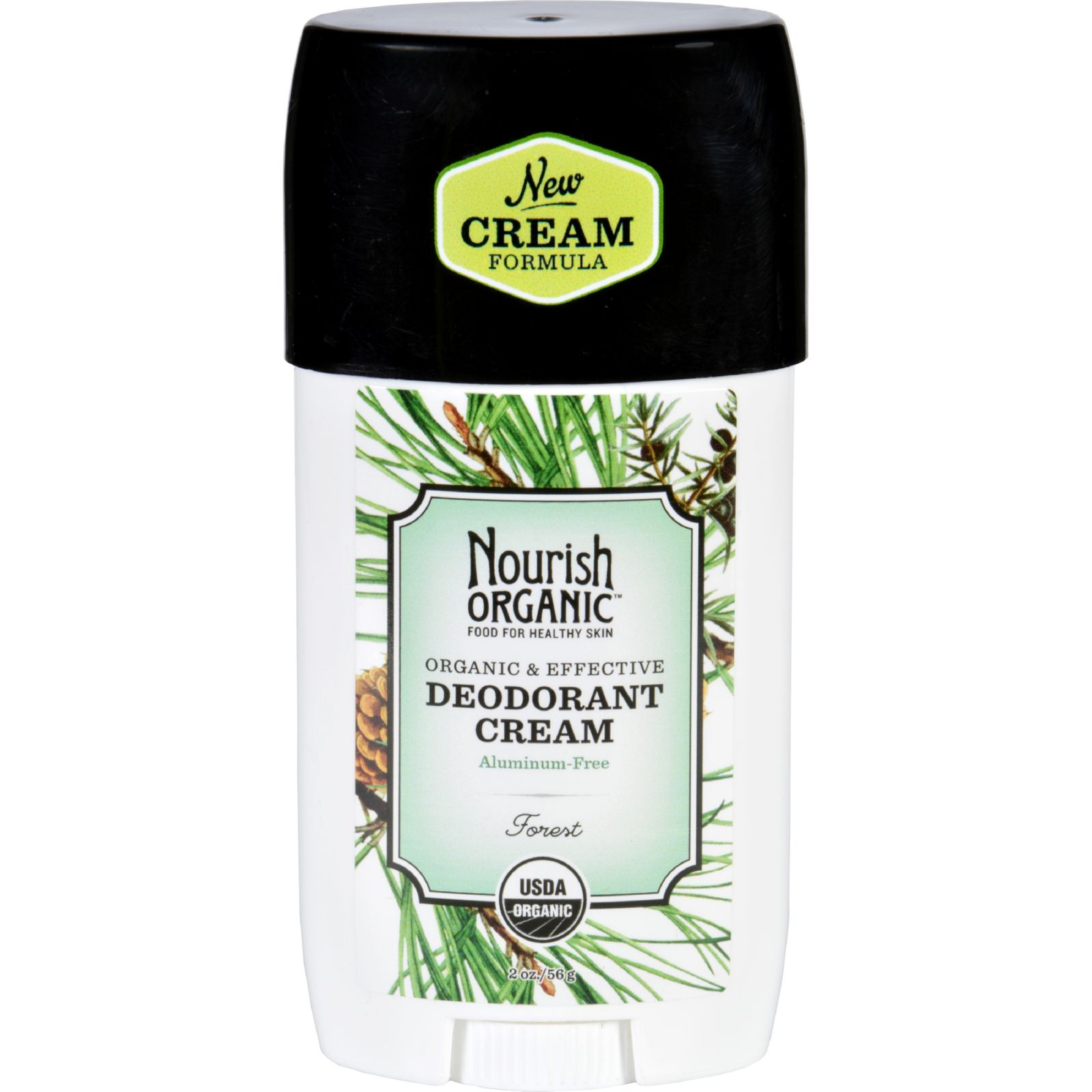 Nourish Organic Deodorant  Cream  Organic  Forest  2 oz