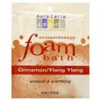 Aura Cacia Cinnamon & Ylang Ylang Foam Bath (6x2.5 Oz)