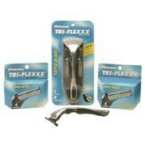 Personna Tri-Flexxx for Men Razor Handle + Cream (1xPC)
