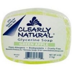 Clearly Naturals Green Apple Glycerine Soap (1x4 Oz)