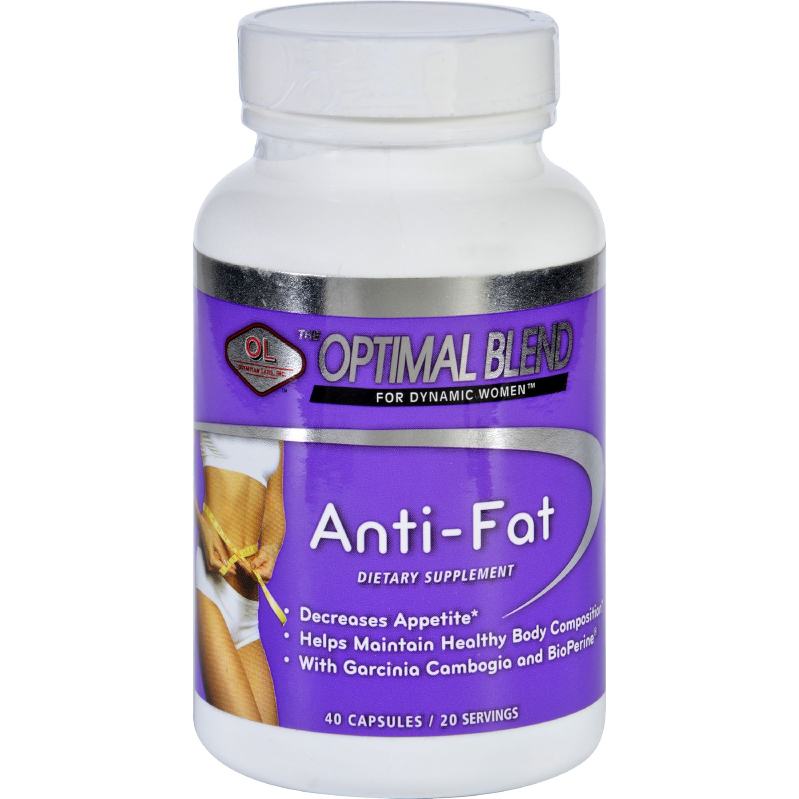 Optimal Blend Anti Fat 40 Capsules