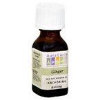 Aura Cacia Ginger Essential Oil (0.5Oz)