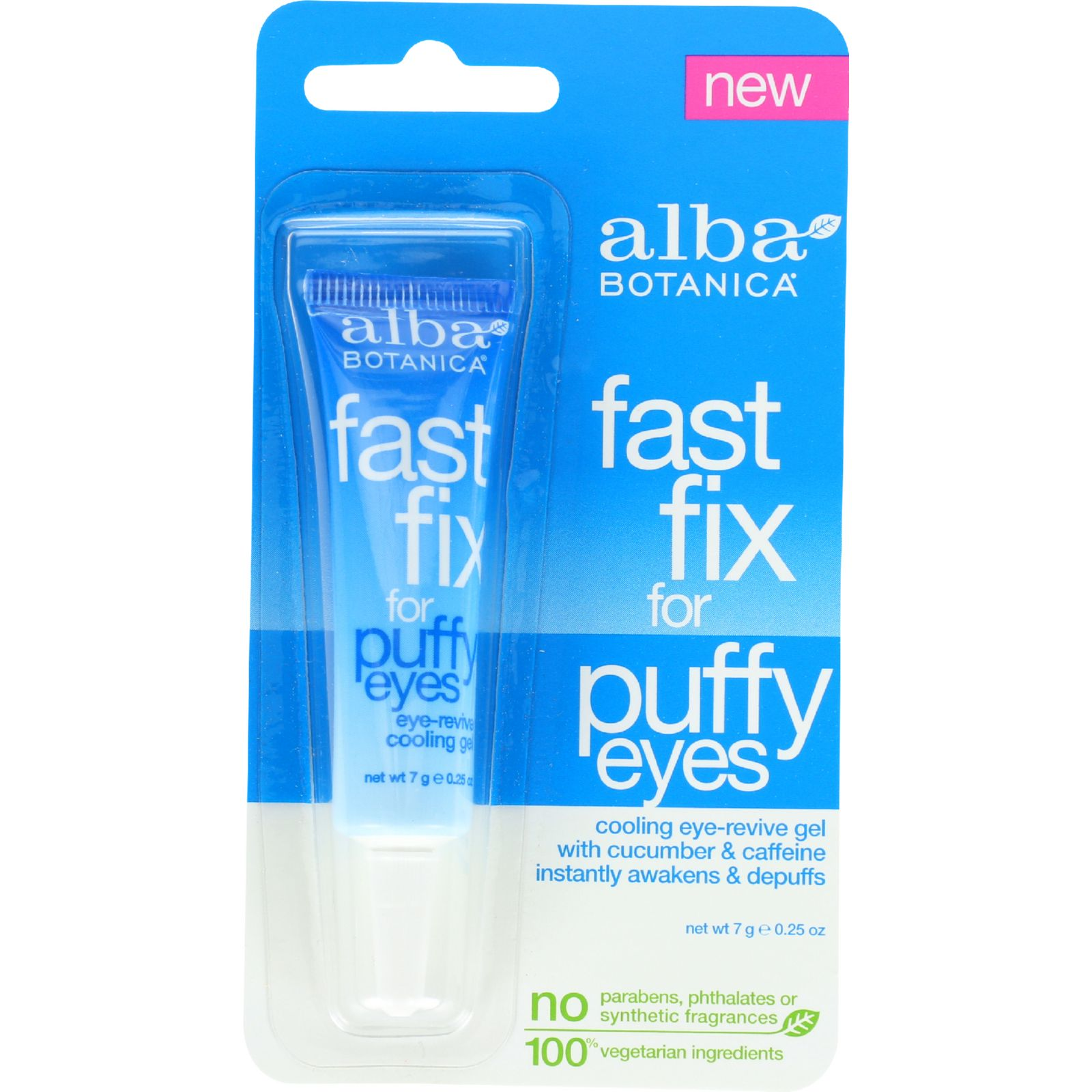 Alba Botanica Fast Fix For Puffy Eyes  .25 oz  Case of 6