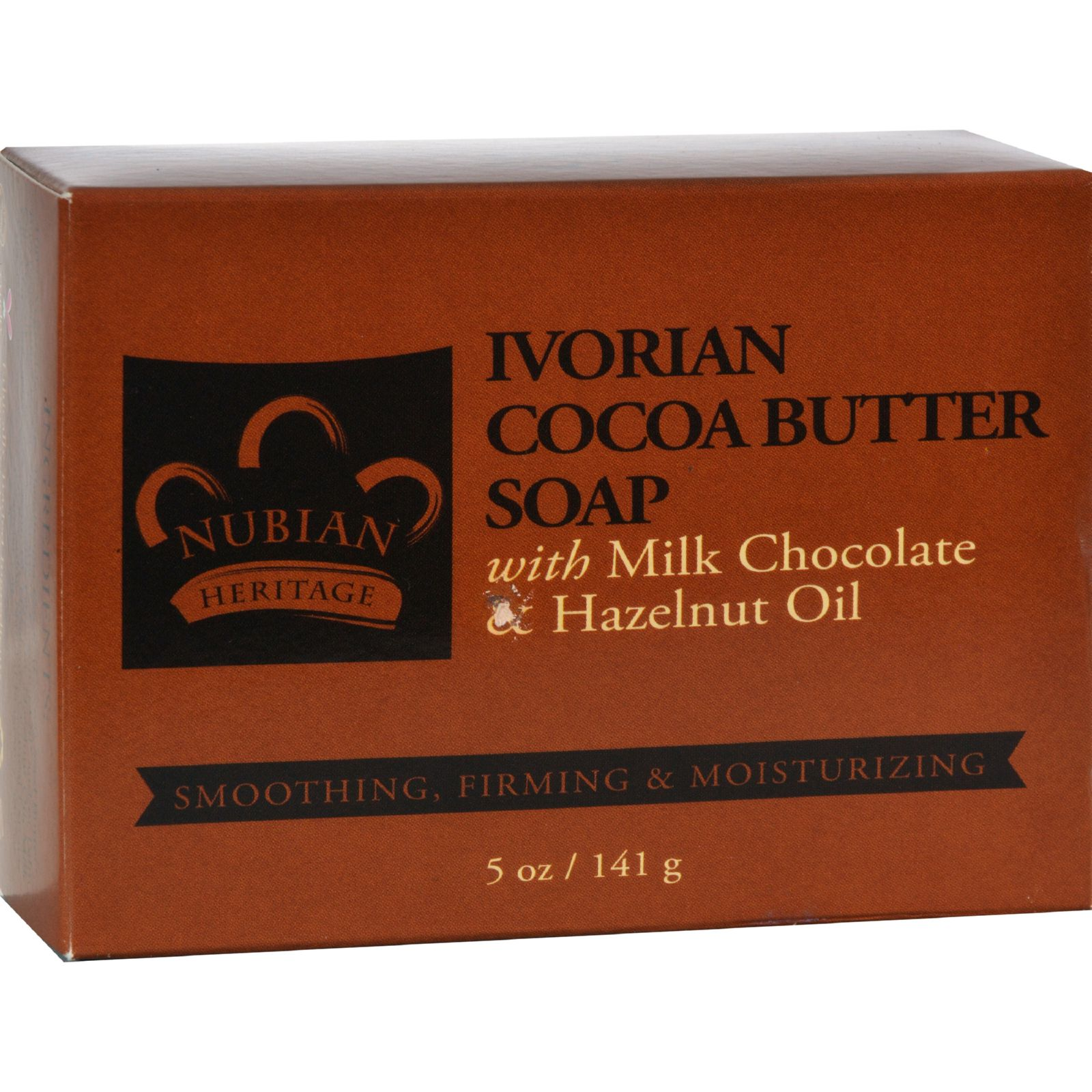Nubian Heritage Bar Soap  Ivorian Cocoa Butter  5 oz
