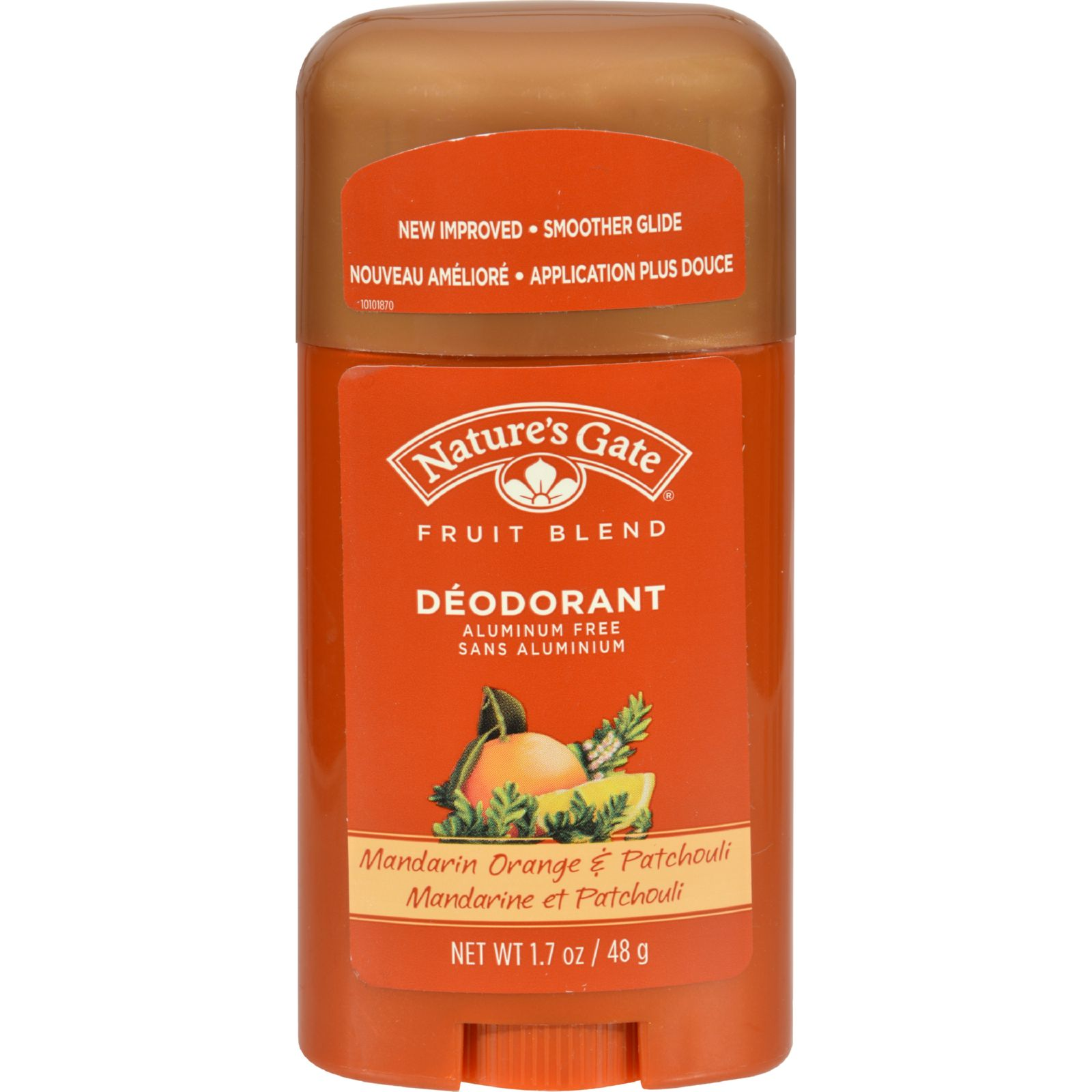 Nature's Gate Organics Deodorant Mandarin Orange Patchouli  1.7 oz