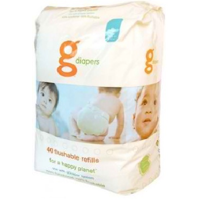 G-Diapers Flushable Reills Medium Large (4x32 CT)
