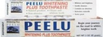 Peelu Peppermint Toothpaste (1x3 Oz)