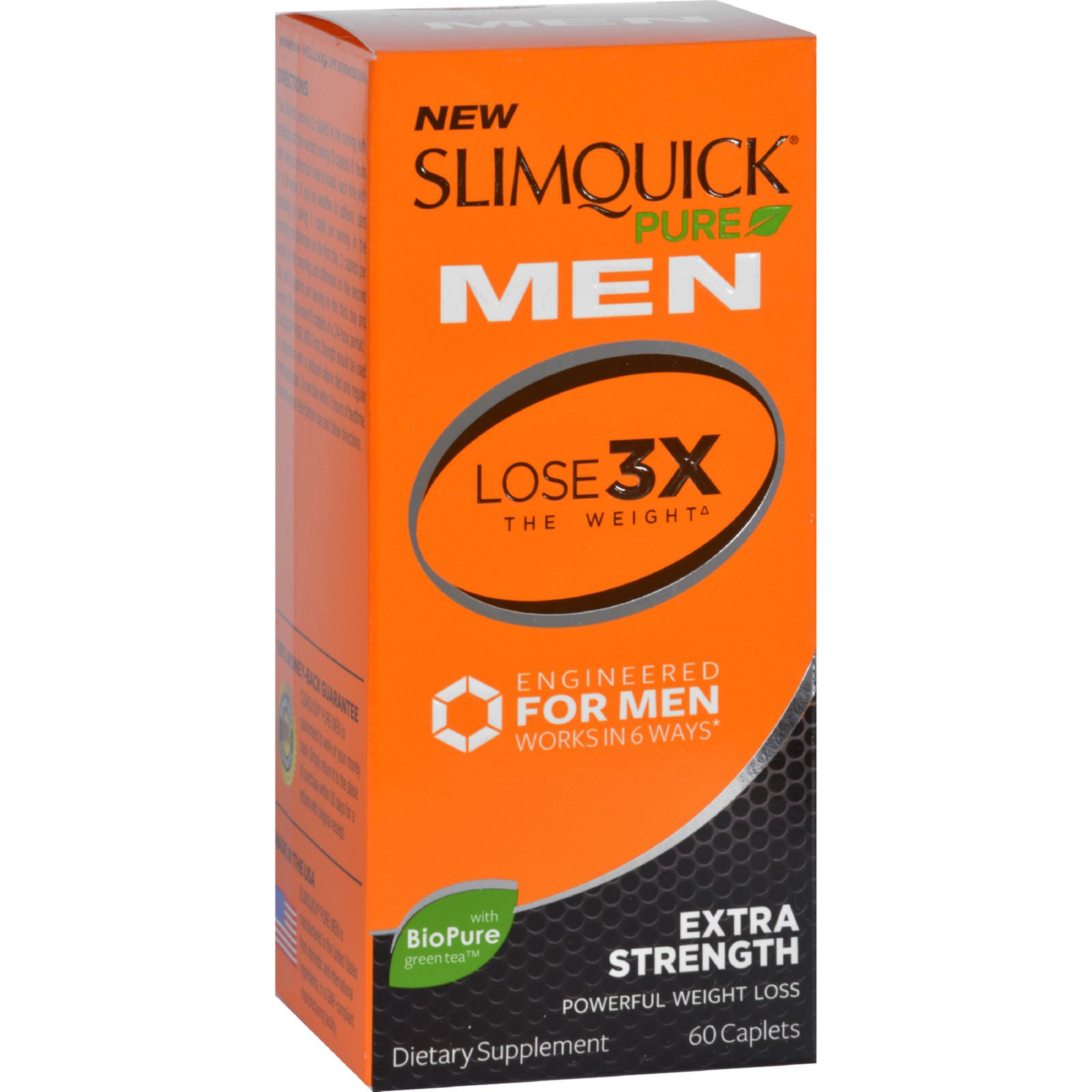 Slimquick  Pure  Men  Extra Strength  60 Capsules