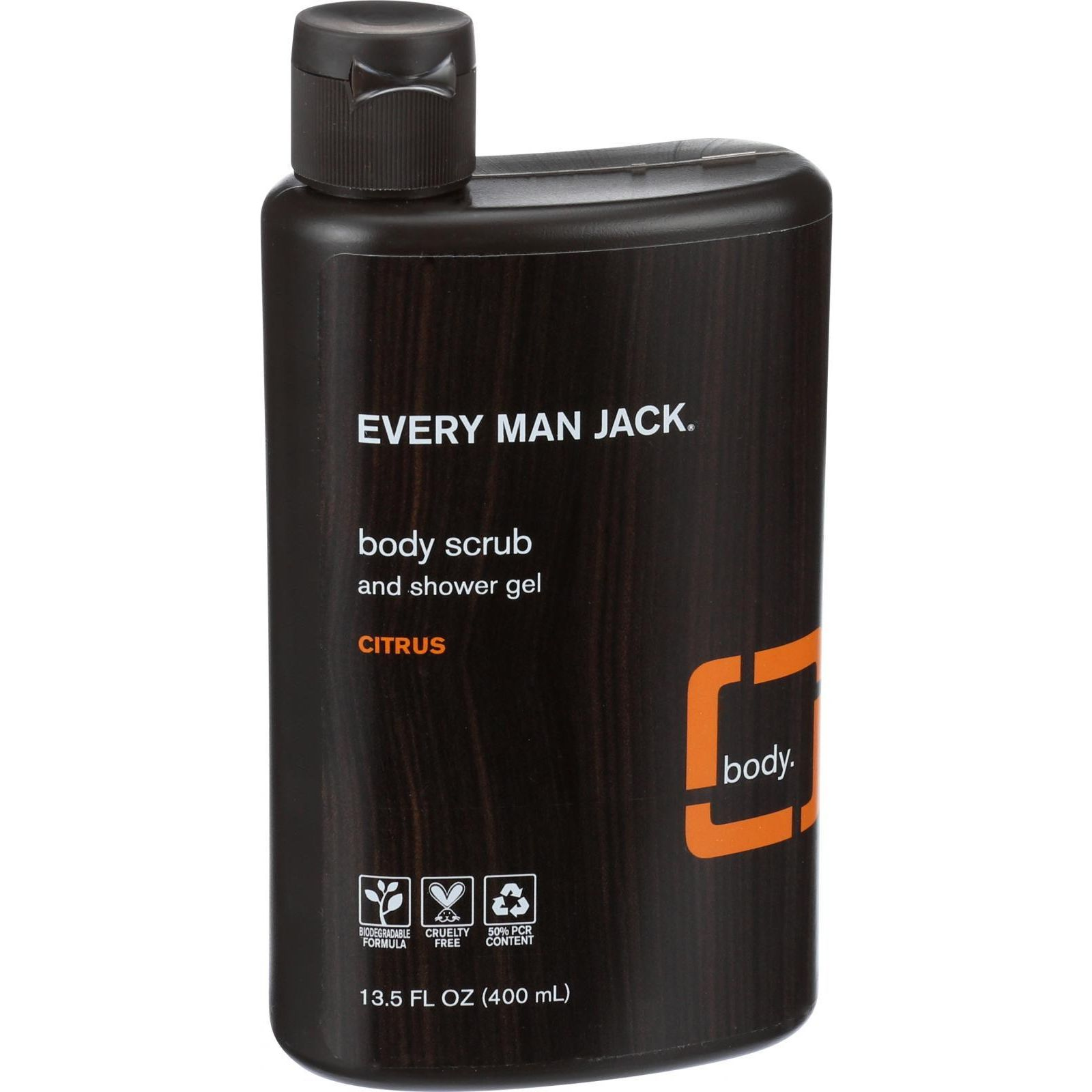 Every Man Jack Body Wash  Citrus Scrub  13.5 oz