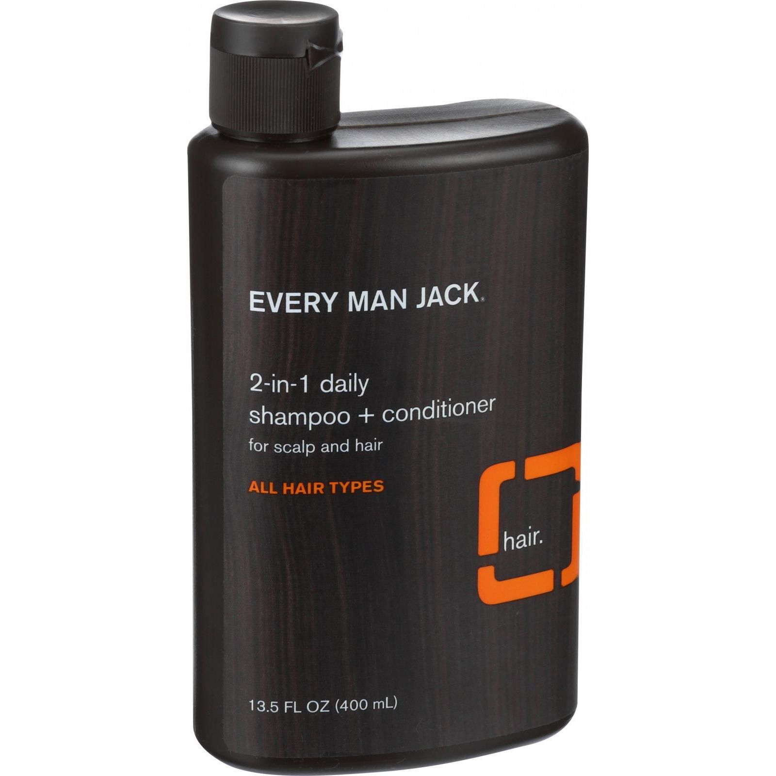 Every Man Jack 2 in 1 Shampoo plus Conditioner  Daily  Scalp and Hair  All Hair Types  13.5 oz