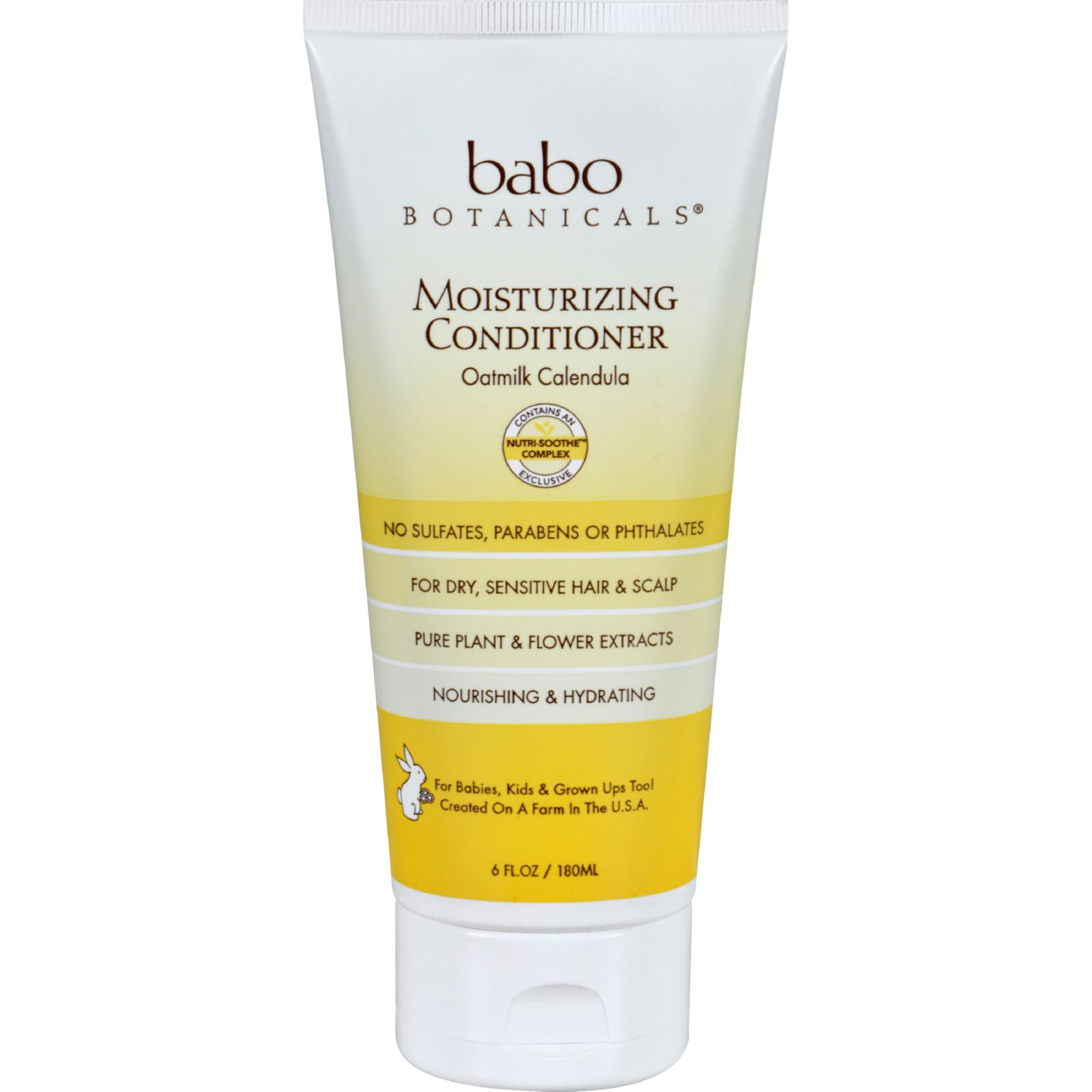 Babo Botanicals Conditioner  Moisturizing  Oatmilk  6 oz