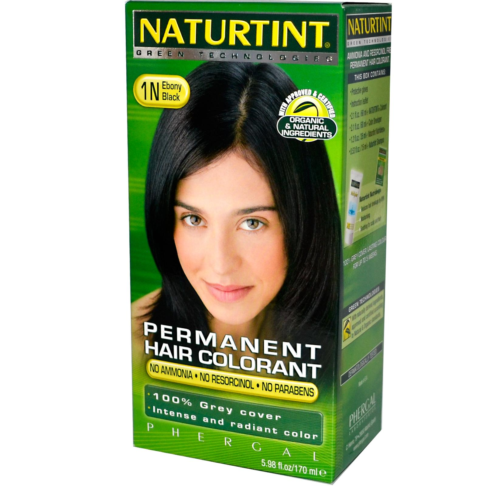 Naturtint 1n Black Ebony Hair Color (1xKit)