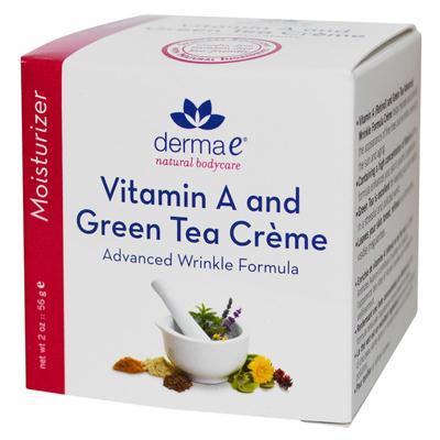 Derma E Retinol & Green Tea Advanced Renewal Creme (1x2 Oz)