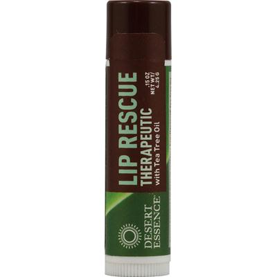 Desert Essence Lip Balm, Tea Tree Oil Rescue (24x.15 Oz)