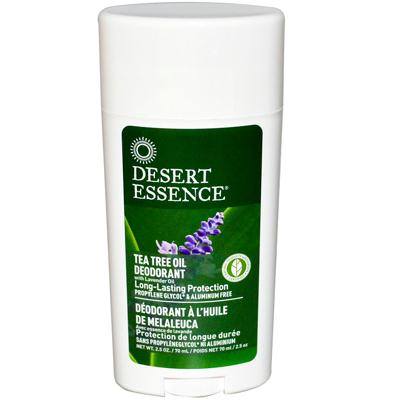 Desert Essence Tea Tree Deodorant With Lavender (1x2.5 Oz)