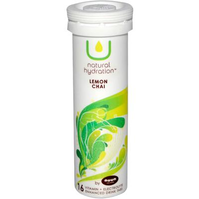 U Natural Hydration Lemon Chai Drink Tabs (8x16 Ct)