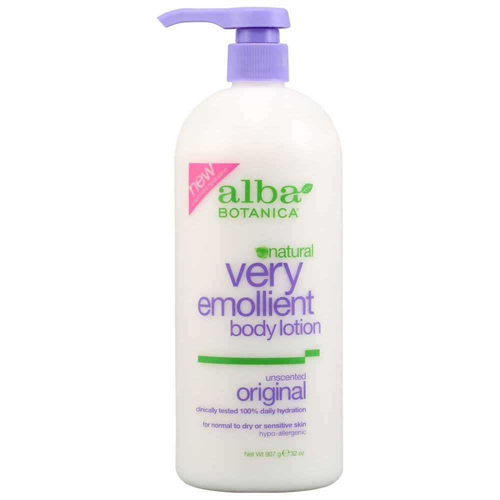 Alba Botanica Very Emollient Unscented Body Lotion (1x12 Oz)