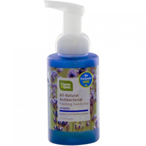 Cleanwell Lavender Absolute Foam Hand Wash (1x9.5 Oz)