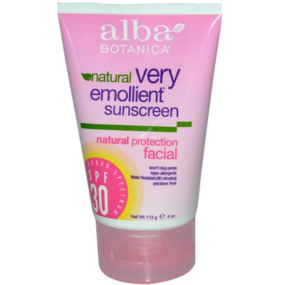 Alba Botanica Face Sunscreen Spf 30 (1x4 Oz)